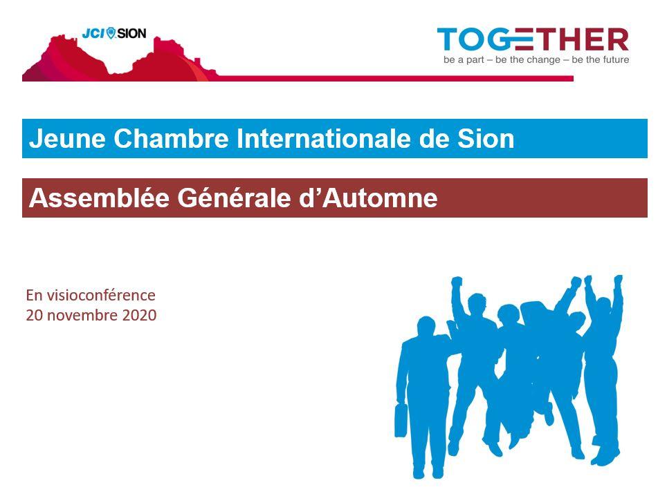 capture d'écran de la visioconférence de l'AG d'automne 2020